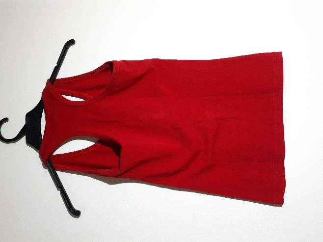 Imagen producto Camiseta de tirantes roja 2