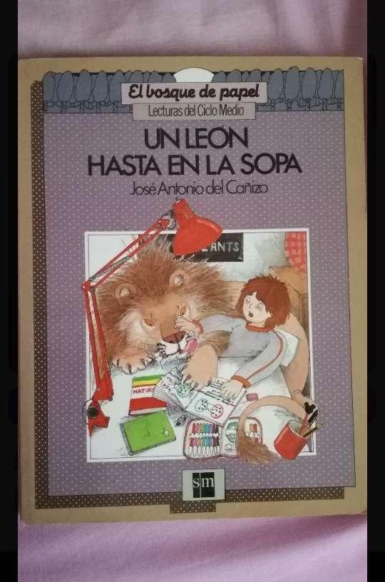 Imagen libro infantil: Un león hasta en la sopa