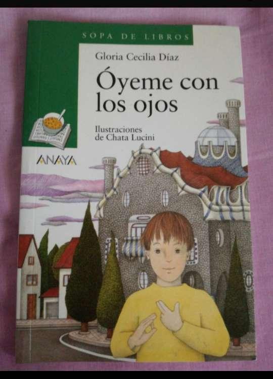 Imagen libro: óyeme con los ojos