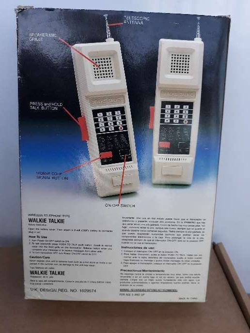Imagen producto Walkie Talkies originales  2