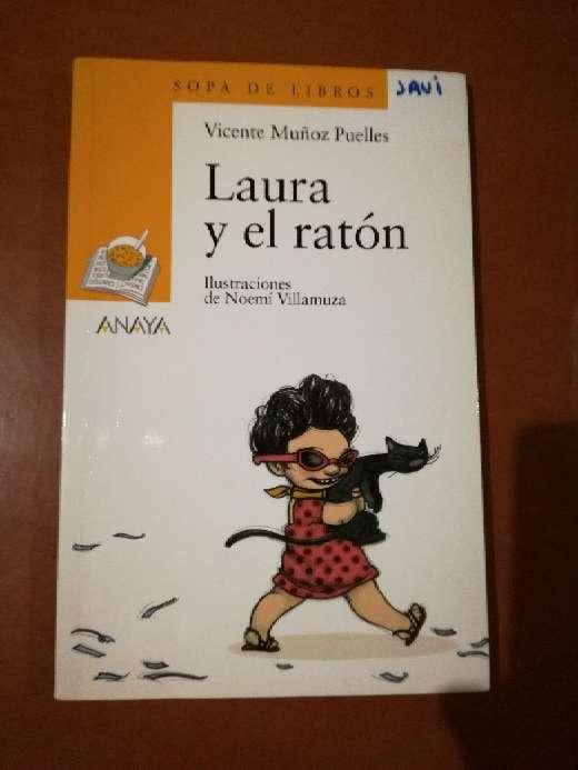 Imagen Laura y el ratón, Vicente Muñoz Puelles