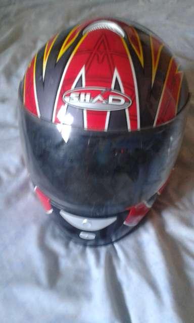 Imagen producto Chaqueta de motorista y casco  3