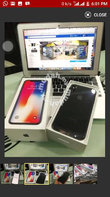 Imagen producto IPhone X for sale 4
