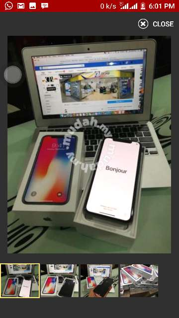 Imagen producto IPhone X for sale 3