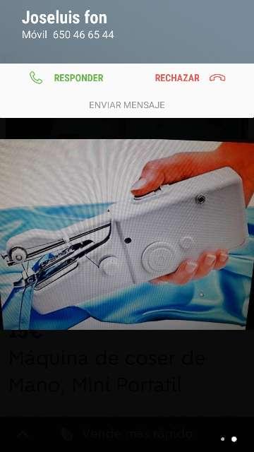 Imagen producto Máquina de coser de Mano, Mini Portatil 2