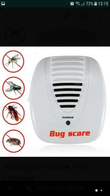 Imagen Electronic Ultrasonic Mosquito Mouse Pest Control