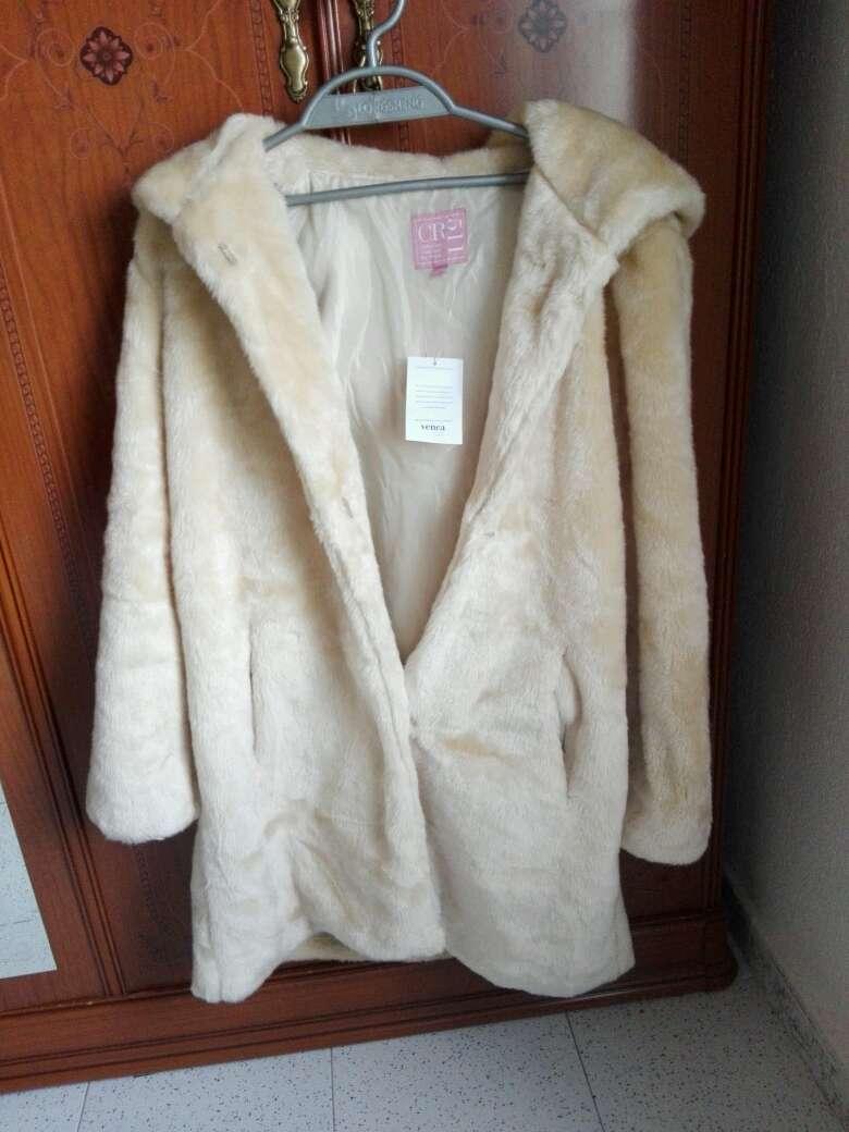 Imagen abrigo de piel sintético