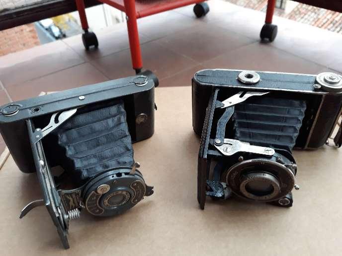 Imagen producto Lote de 5 cámaras de fotos antiguas 2