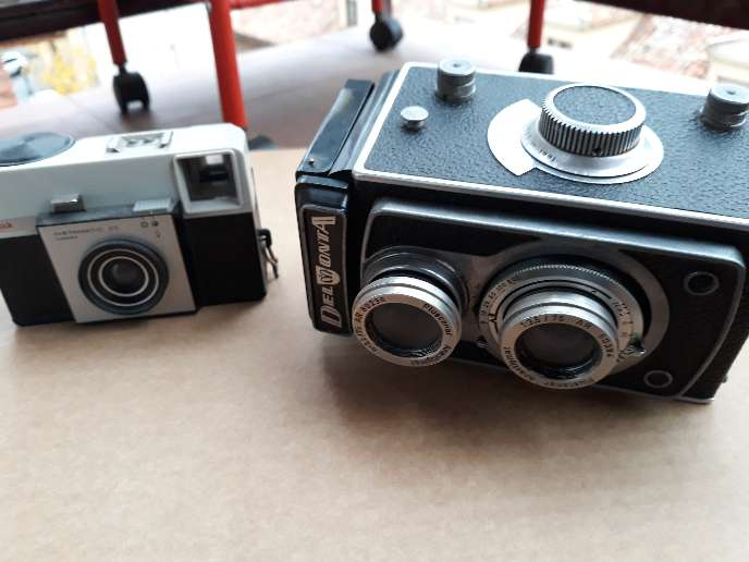 Imagen producto Lote de 5 cámaras de fotos antiguas 3