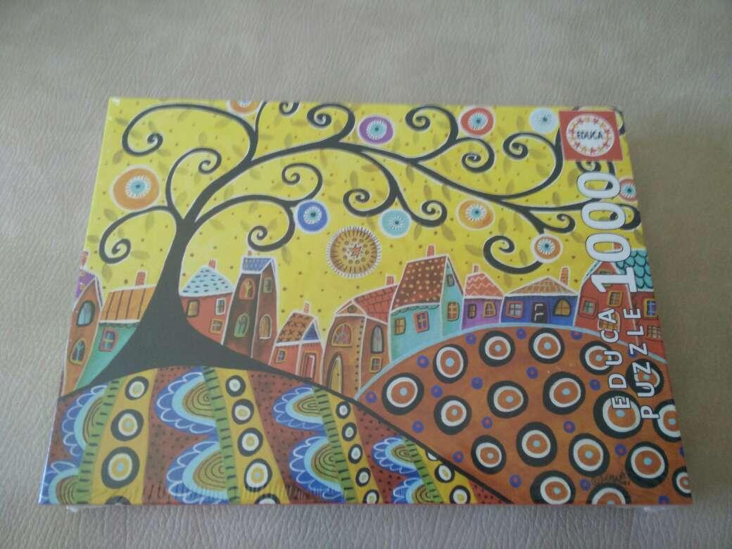 Imagen Puzzle Educa 1000 piezas Blooming village