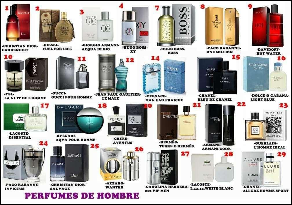 Imagen producto Perfumes 100% originales de los mejores diseñadores. 4