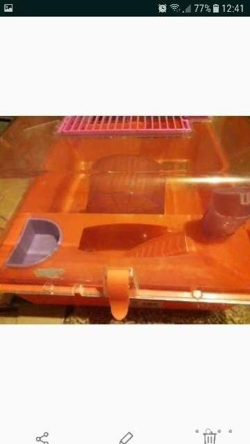 Imagen producto Jaula y bola hamster 2