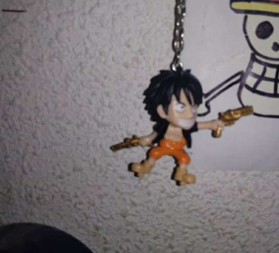 Imagen producto Póster y llavero de One Piece 2