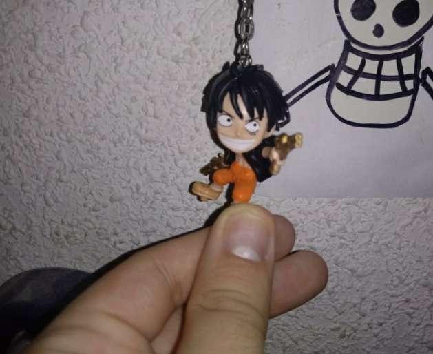 Imagen producto Póster y llavero de One Piece 3