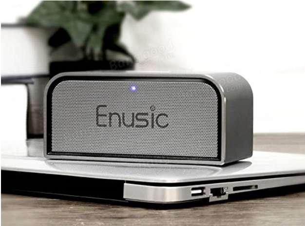 Imagen Altavoces Bluetooth, diseño Premium: Enusic 003 - 10W
