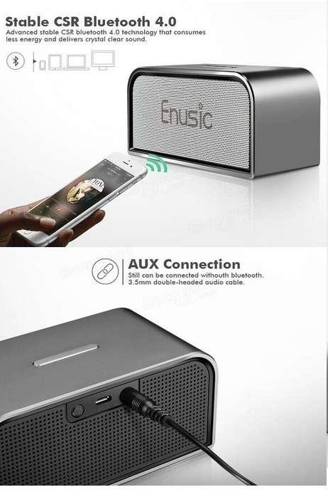 Imagen producto Altavoces Bluetooth, diseño Premium: Enusic 003 - 10W 3