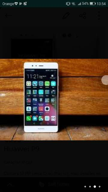 Imagen producto Huawei P9 phone 2017 New 2