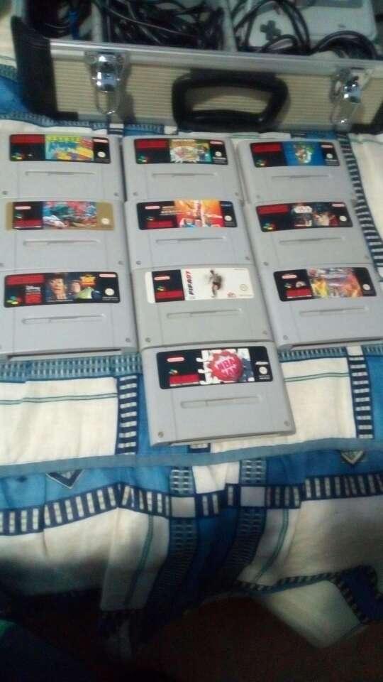 Imagen Super Nintendo juegos