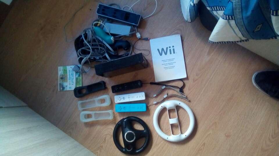 Imagen Wii con mandos