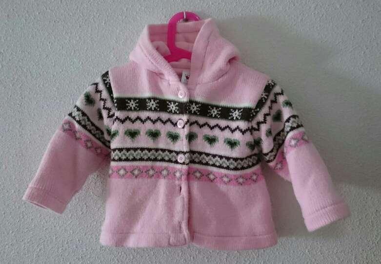 Imagen producto Abrigo de punto rosa  4