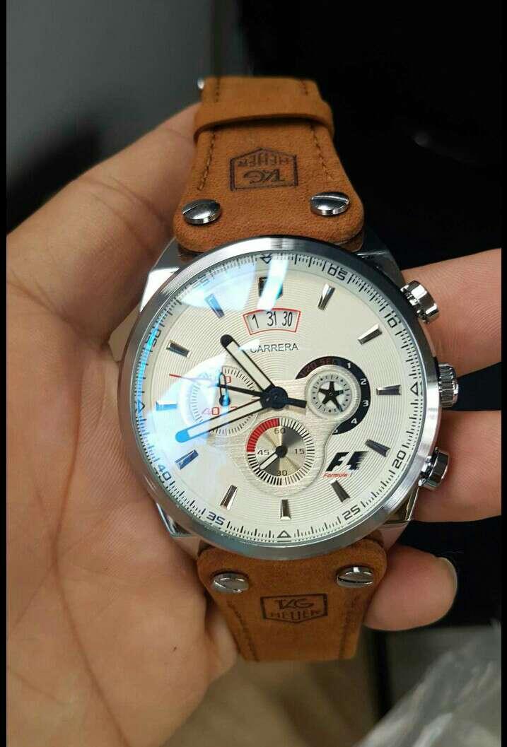 Imagen leather reloj watch 01