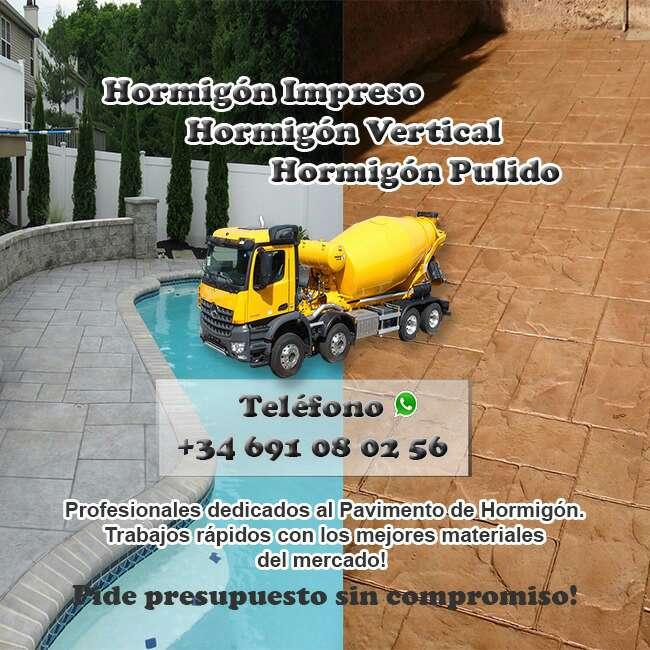 Imagen producto Hormigón impreso  2