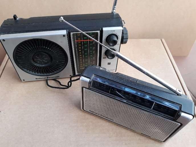 Imagen Lote 2 radios antiguas National Panasonic