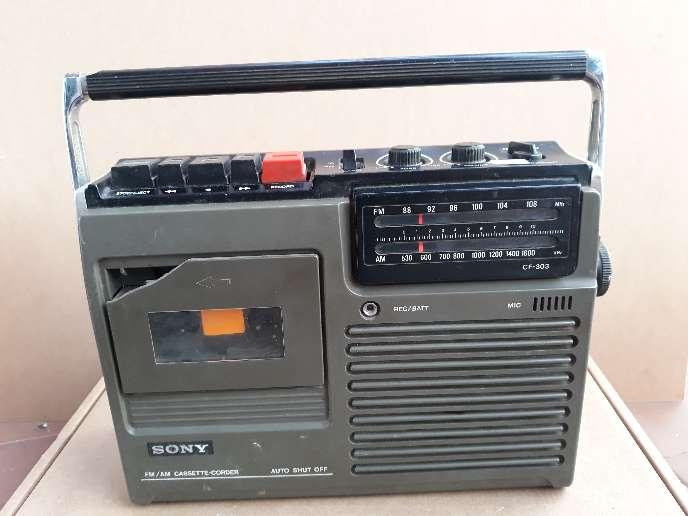 Imagen Radio antigua Sony
