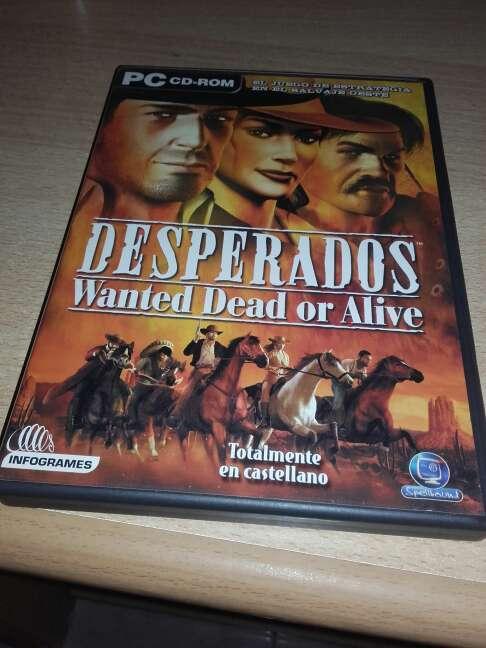 Imagen DESPERADOS, wanted dead or alive