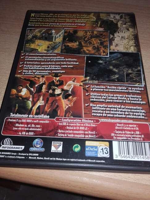 Imagen producto DESPERADOS, wanted dead or alive  2