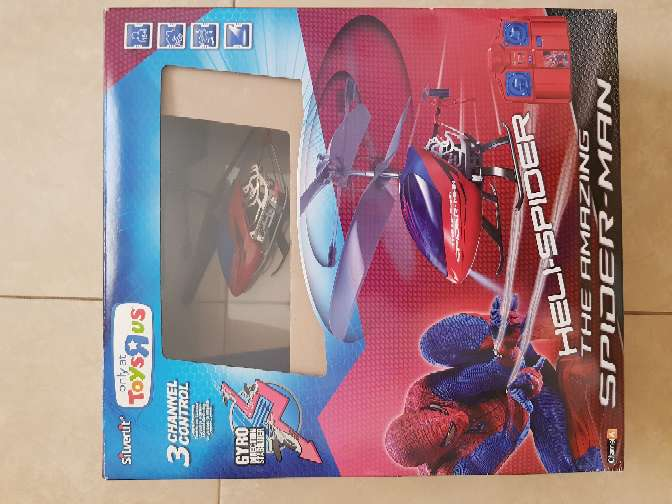 Imagen Helicóptero Spider-Man