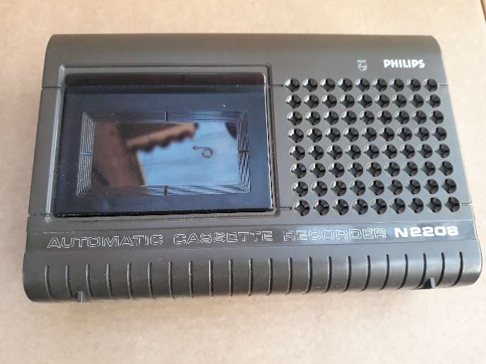 Imagen Grabadora cassette Philips