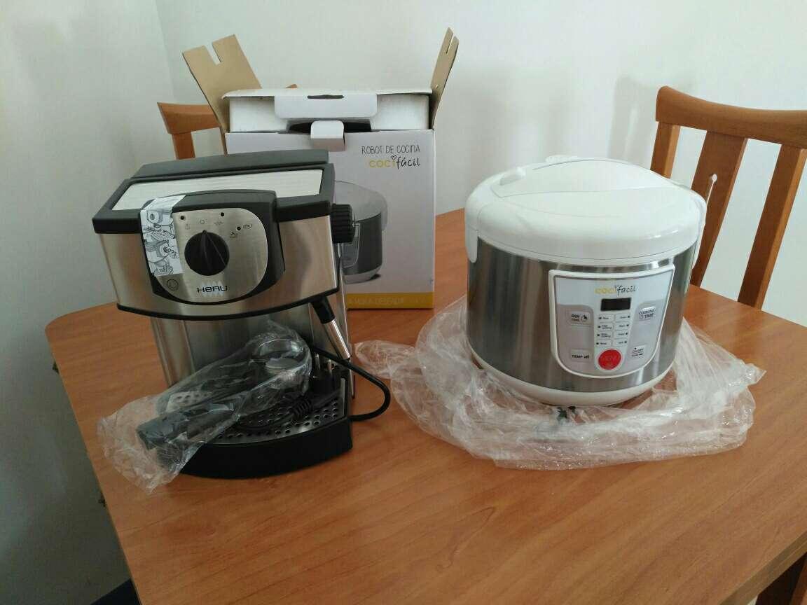 Imagen robot cocina,cafetera, fondue,hervidor huevos