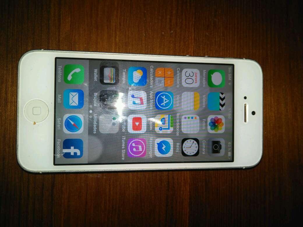 Imagen producto IPhone 5 Seminuevo 4