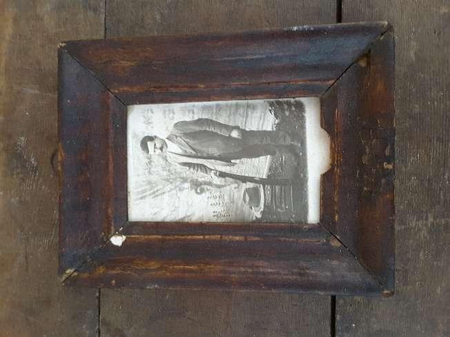 Imagen Cuadro antiguo con retrato de época