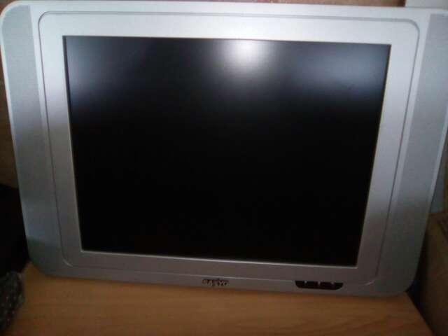 Imagen televisión plana