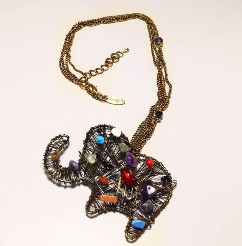 Imagen producto Collar elefante  3