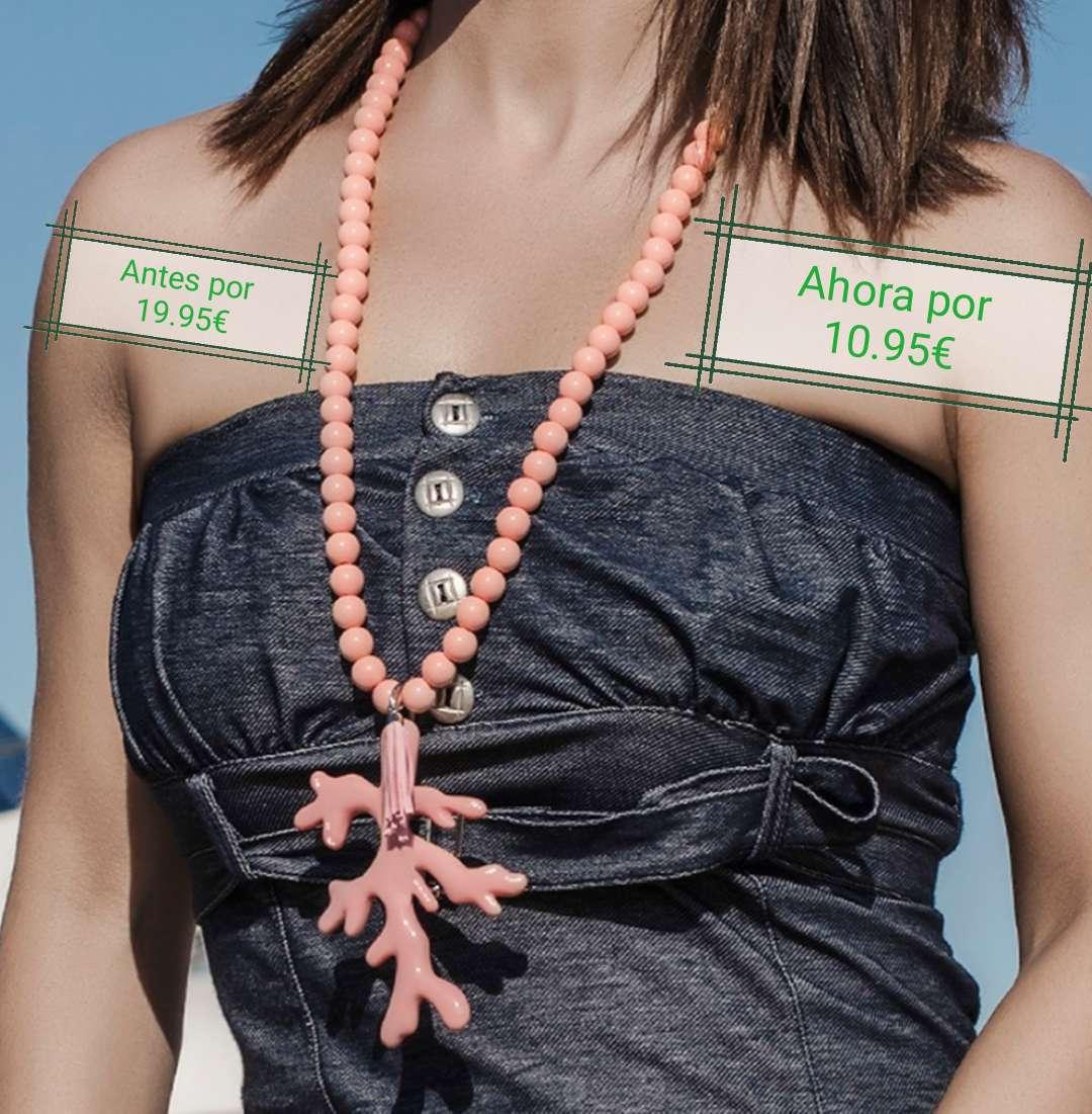 Imagen Collar rosa