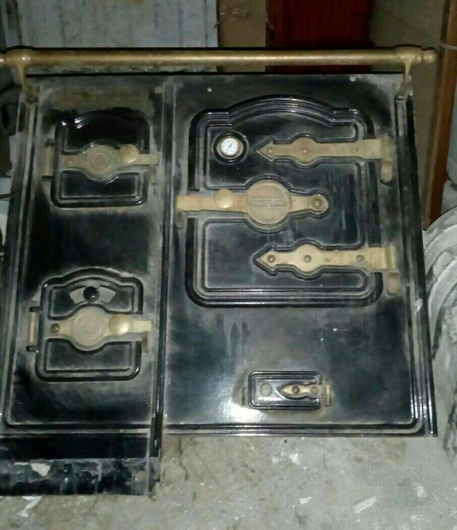 Imagen frente de cocina de carbón