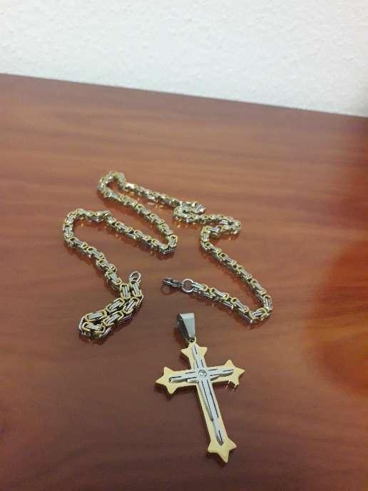 Imagen crucifijo de acero