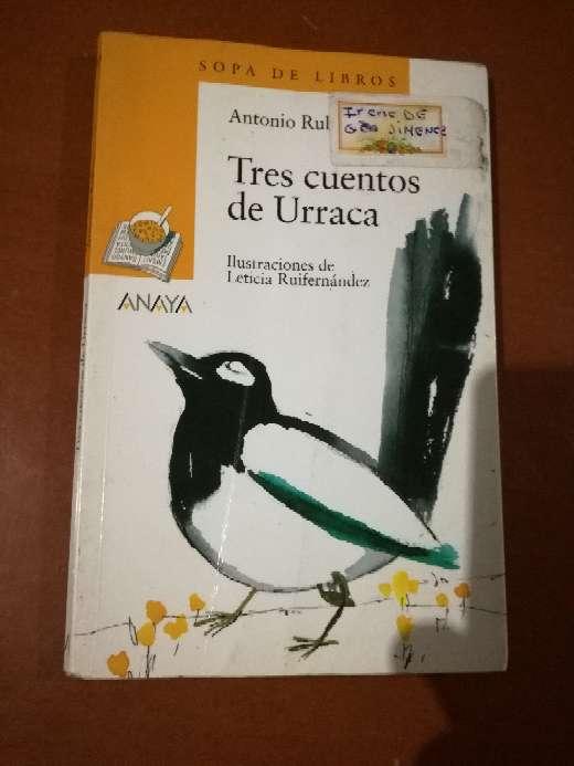 Imagen Tres cuentos de Urraca, Antonio Rubio