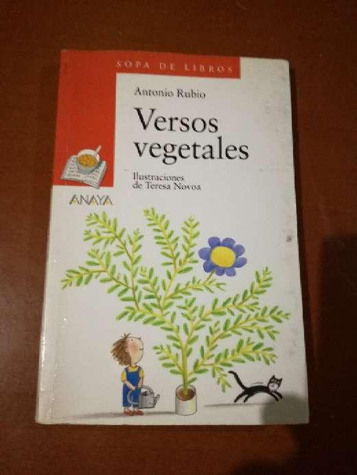 Imagen Versos vegetales, Antonio Rubio