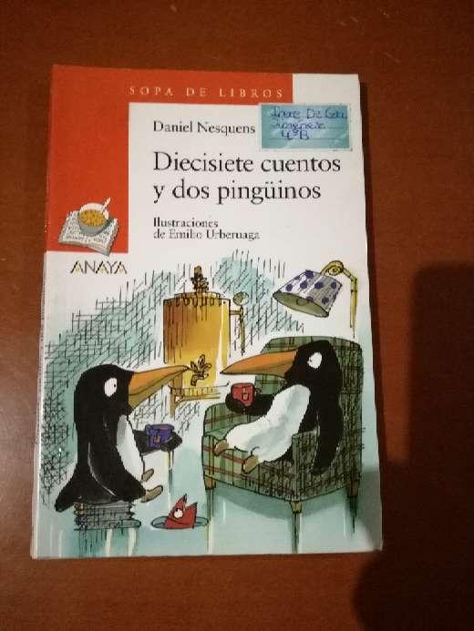 Imagen 17 cuentos y 2 pingüinos, Daniel Nesquens