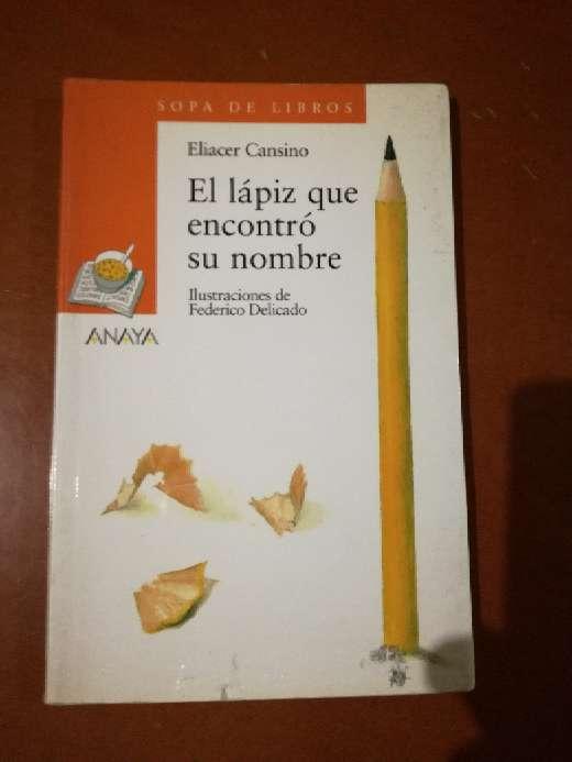 Imagen El lápiz que encontró su nombre, Eliacer Cansino