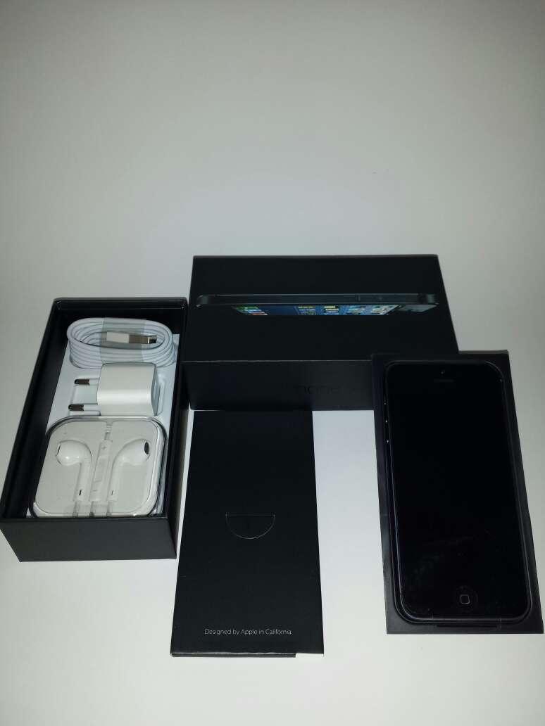 Imagen iphone 5 black nueva