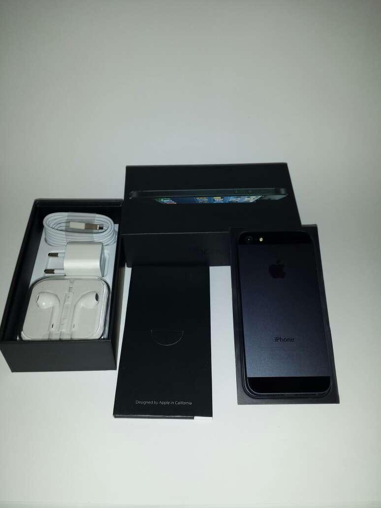 Imagen producto Iphone 5 black nueva 2