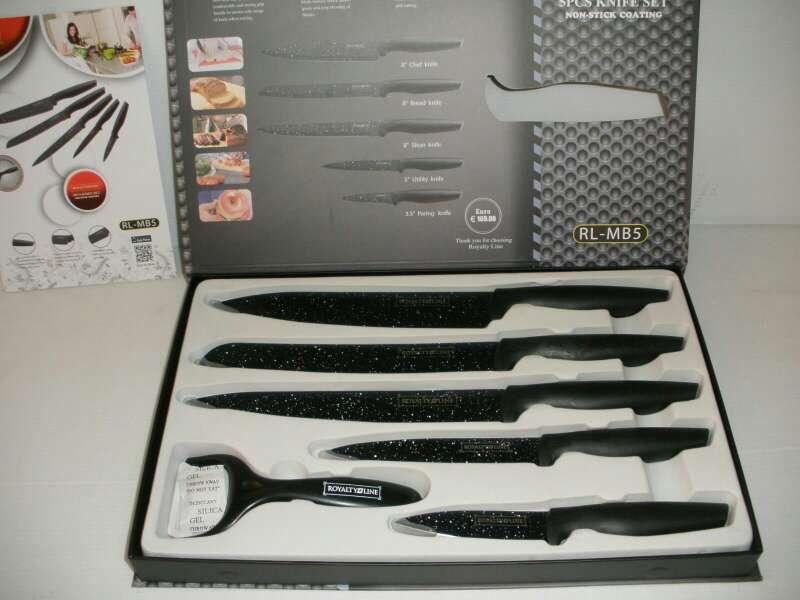 Imagen juego cuchillos nuevos