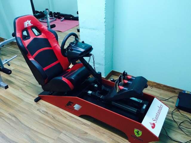 Imagen simulador cockpit F1