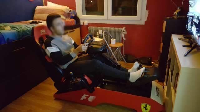 Imagen producto Simulador cockpit F1 2
