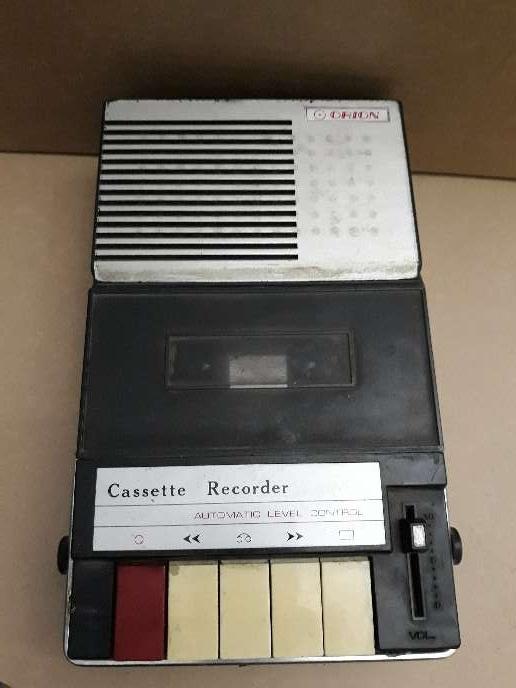 Imagen Grabadora cassette Orion